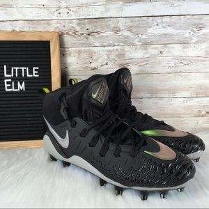 Nike Fore Savage Pro Football Cleat Reflective